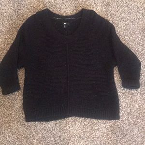 Black sweater by Mossimo.